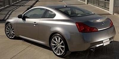 Infinity G37 Coupe rear