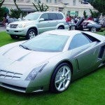 Cadillac Cien on grass