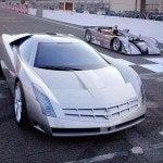 Cadillac Cien on track