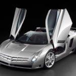 Cadillac Cien Concept open