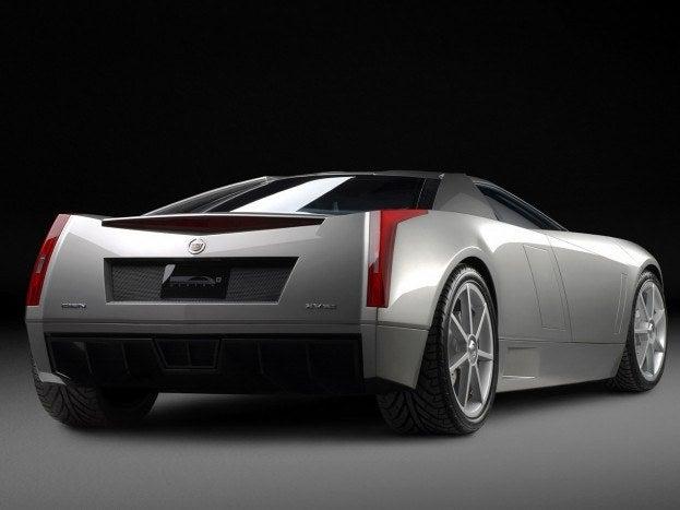 Cadillac Cien Concept rear