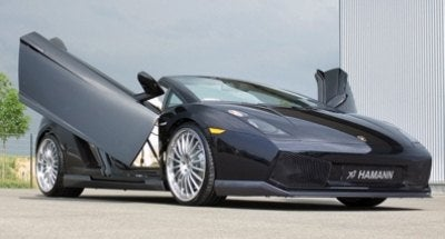 Hamann Lamborghini Gallardo Spider - Awesome Doors