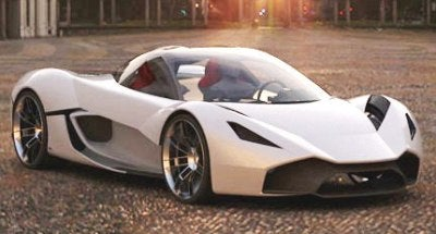 McLaren Concept Supercar