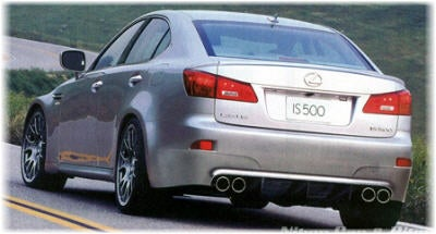 Lexus IS500, IS-F
