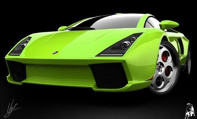 lamborghini 3000. Lamborghini Spiga Concept