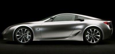 Lexus LF-A Concept side