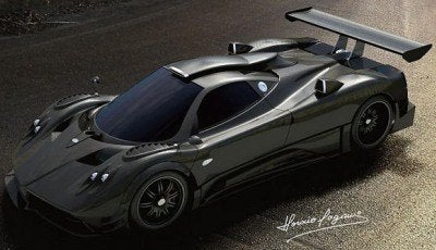 Pagani Zonda R - Official Renderings