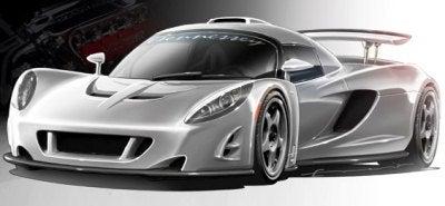 Hennessey Venom GT Supercar Revelead