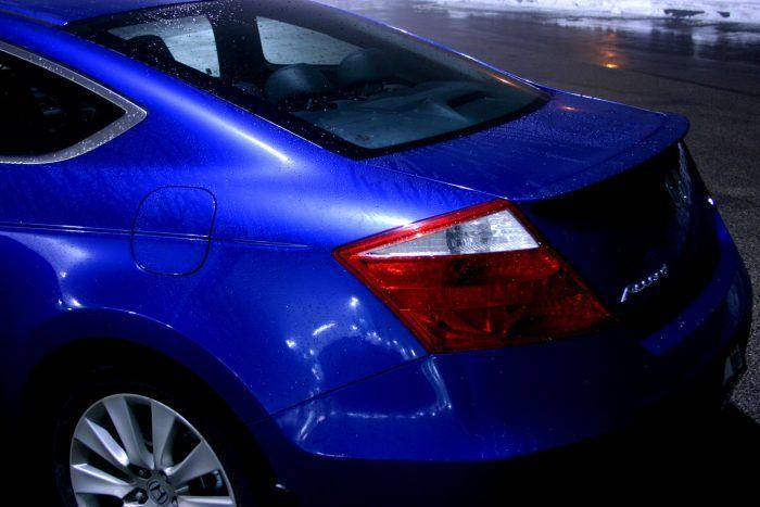 2008 Honda Accord Coupe tail end