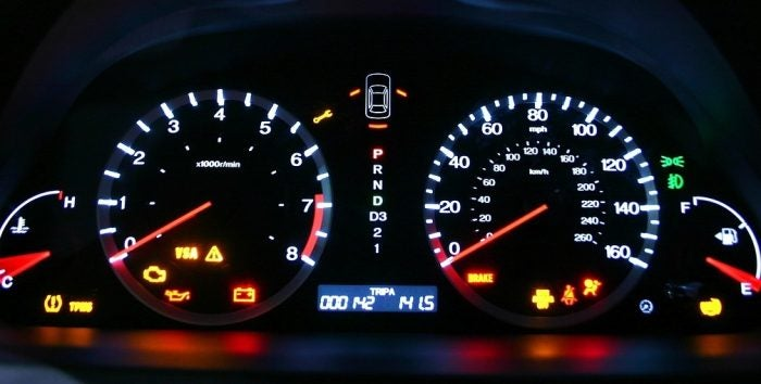 2008 Honda Accord Coupe gauge cluster