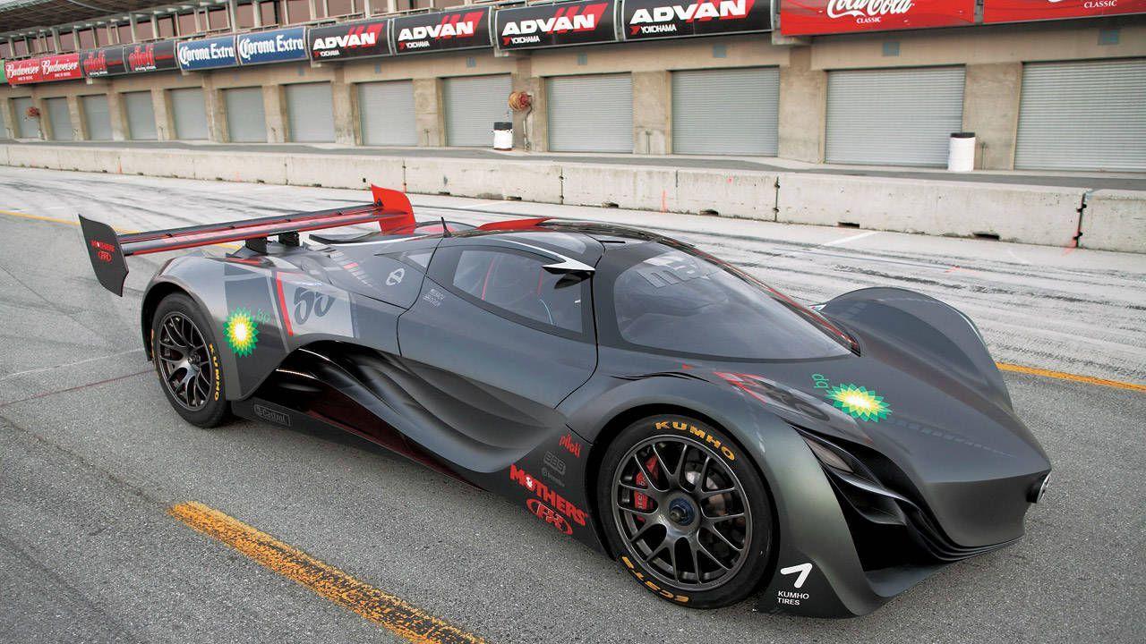 Mazda Furai on track