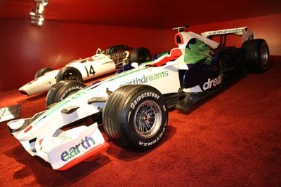 Geneva Honda F1 Cars two shot