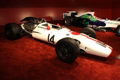 Geneva Honda F1 Cars two shot rev