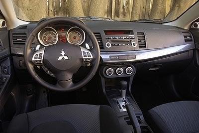 2008 Lancer GTS interior