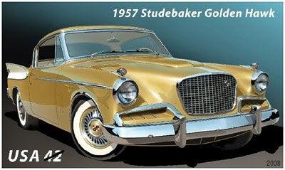 '57 Studebaker Golden Hawk