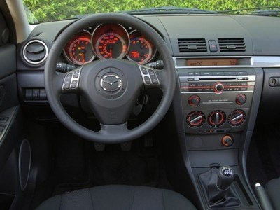 2007 Mazda3 Interior