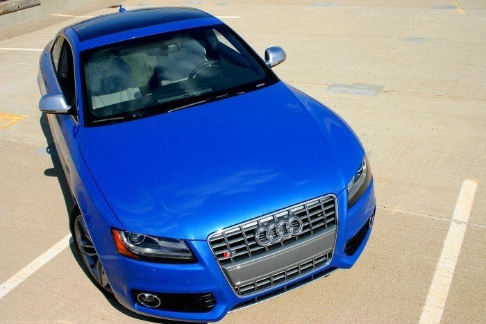 2009 Audi S5 top