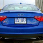 2009 Audi S5 rear