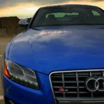 2009 Audi S5 side front