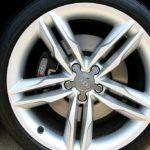 2009 Audi S5 wheel