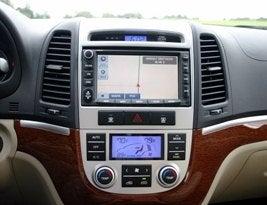 Hyundai Santa Fe dash