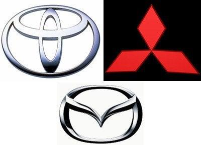 Toyota vs Mitsubishi vs Mazda