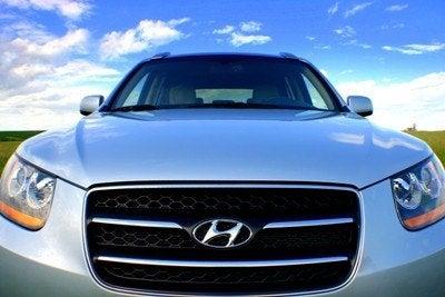 Hyundai Santa Fe nose