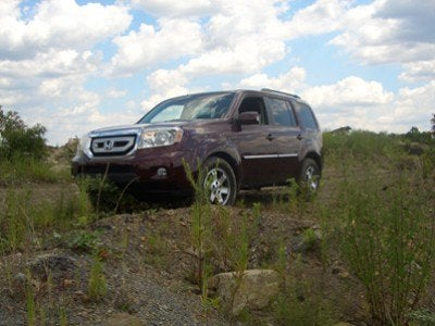 2009 Honda Pilot Touring off road