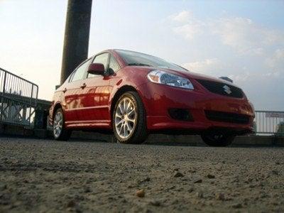 2008 Suzuki SX4 Sport front