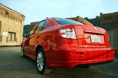 2008 Suzuki SX4 Sport rear