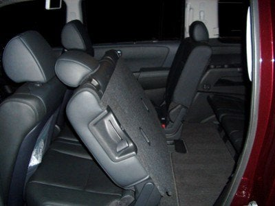 2009 Honda Pilot Touring second row