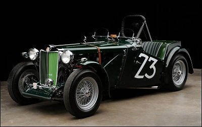 Ex-Shelby MG TC Racer at Barrett-Jackson Las Vegas