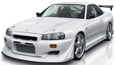 Nissan Skyline R34 Body Kit