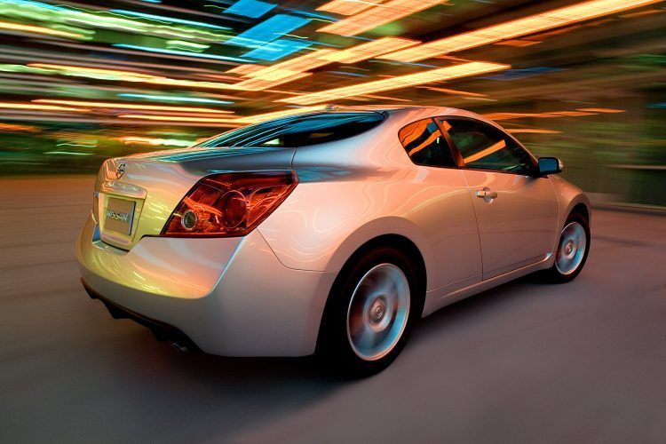 2008 Nissan Altima Coupe rear quarter