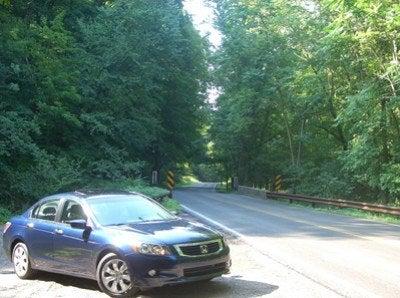 2008 Honda Accord front