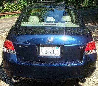 2008 Honda Accord rear