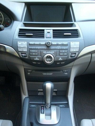 2008 Honda Accord dash