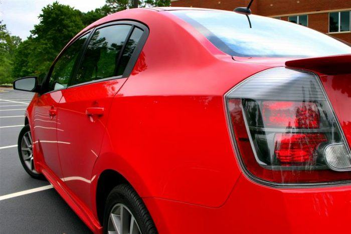 2008 Nissan Sentra SE-R rear tail
