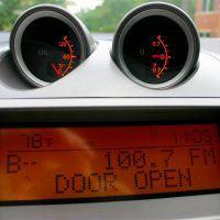 2008 Nissan Sentra SE-R g meter