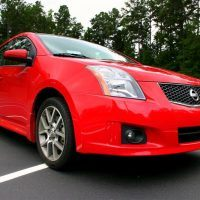 2008 Nissan Sentra SE-R low front side