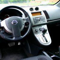 2008 Nissan Sentra SE-R cockpit