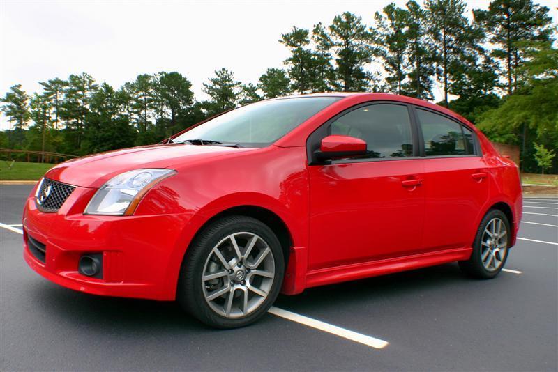 2008 Nissan Sentra SE-R side