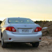 2009 Toyota Corolla XLE rear