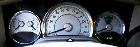 Chrysler Aspen Hybrid gauges