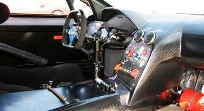 Lamborghini Murcielago R-GT interior