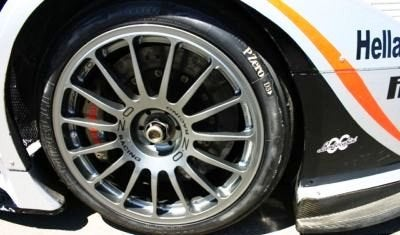 Lamborghini Murcielago R-GT wheel