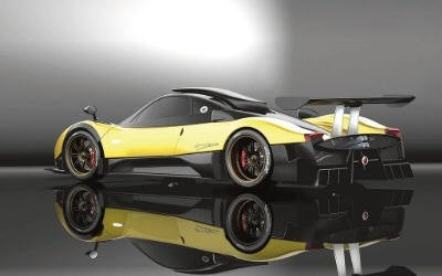 New Renderings of the Pagani Zonda R