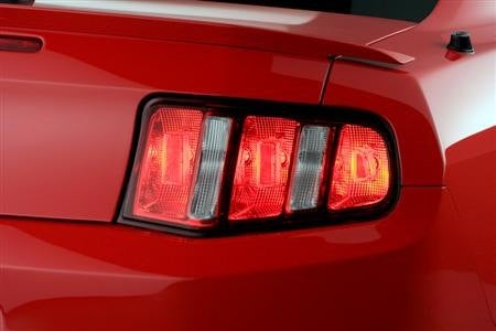 2010 Ford Mustang taillight