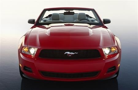 2010 Ford Mustang front