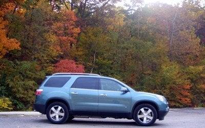 2009 GMC Acadia side